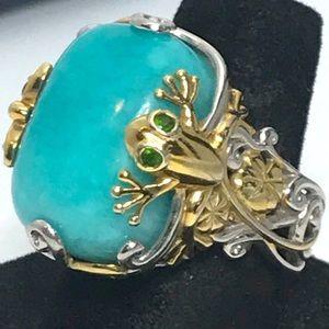 Michael Valitutti Gems en Vogue Spring Ring